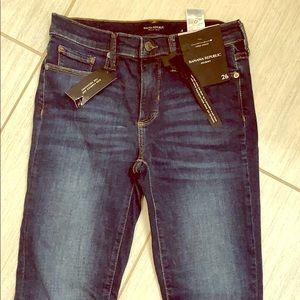 NWT banana republic premium denim jeans